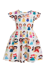 Cutie Patootie Princess Play Dress