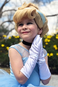 Cinderella Wig for Girls