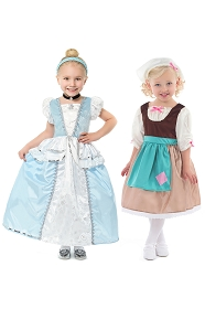 Cinderella Rags to Riches Dress Up Set