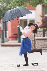 Mary Poppins Disneybound Outfit