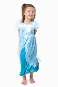 Ice Queen Nightgown with Robe
