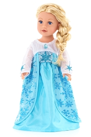 Ice Queen Doll Dress