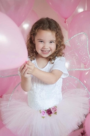 Light Pink Forest Rose Tutu