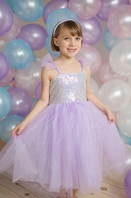 Lilac Fairy Princess Dress