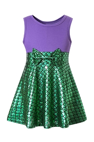 Little Mermaid Tank Dress