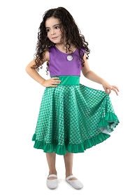 Twirly Girl Mermaid Dress