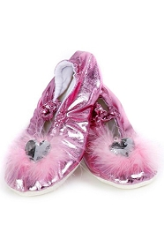 Discontinued - Magenta Pink Princess Slipper