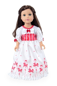 Practically Perfect Nanny Doll Dress