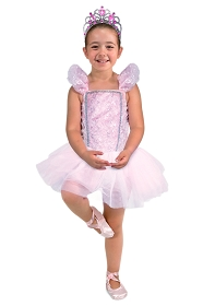 Ballerina with Ballet Shoes and Tiara