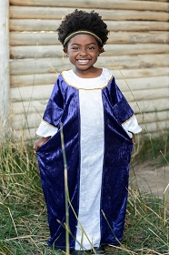 Purple Wiseman Nativity Costume