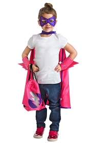 On-the-Go Pink Hero Backpack Dress Up Kit