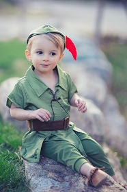 Peter Pan with Hat