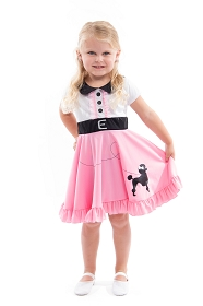 Twirly Girl Poodle Dress