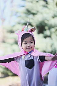 Pink Magical Unicorn Cloak