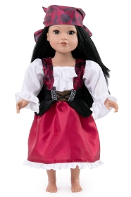 Pirate Girl Anne Doll Dress