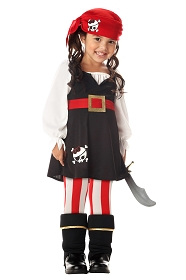 Lil' Pirate Costume for Girls