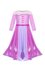 Purple Queen Elsa Dress