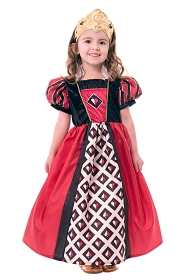 Queen of Hearts Dress-Up with Tiara