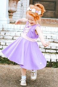 Twirly Girl Rapunzel Dress