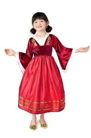 Limited Edition Red Mulan Dress