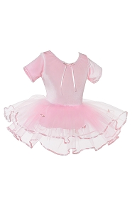 Ribbon and Rosette Ballet Tutu