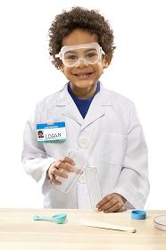 Scientist Lab Coat and Tools