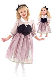 Briar Rose' Forest Dress for Child and Doll