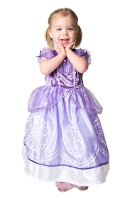 Purple Amulet Princess Dress