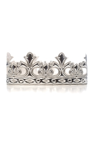 Soft Silver King/Queen Crown