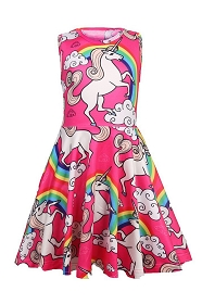 Unicorns and Rainbows Tank Dress