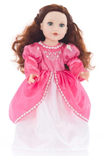 Pink Little Mermaid Ballgown for Dolls