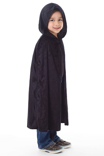 Black Cloak with Hood