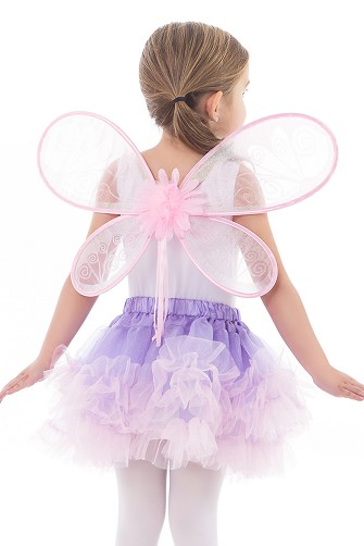 DELUXE Pink Fairy Wings