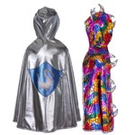 Fairytale Dragon and Reversible Knight Cape