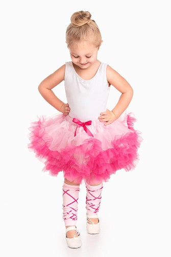 Pink with Hot Pink Tutu