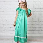 Green Vintage Nightgown