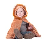 Toddler Lion Cape with Attached Hood