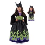 Dragon Queen Child and Doll Dress Set