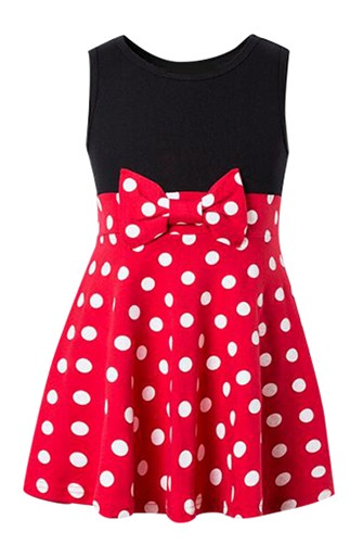 Polka Dot Minnie Tank Dress