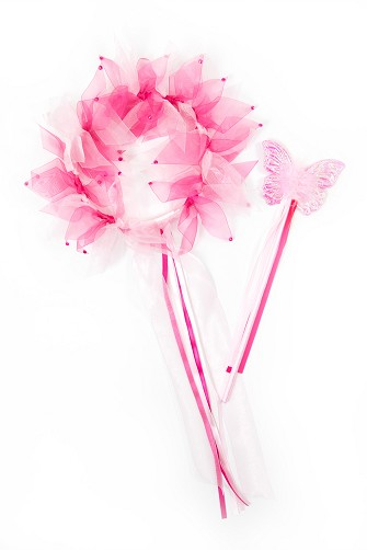 Pink Fairy Halo and Wand Set