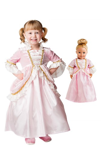 Parisian Princess Child and Doll Dress Set