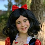 Snow White Wig for Girls