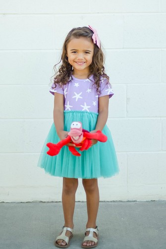 Starfish Mermaid Tutu Dress