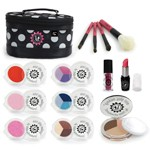 14 Piece Real Feel Play Makeup Set with Black Tote