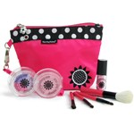 7 Piece Real Feel Play Makeup Set with Clutch