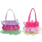 Fancy Frills Purse - Pink or Purple