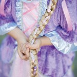Rapunzel Braid Headband in Blonde