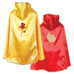 Reversible Snow White and Belle Cloak