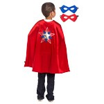 Boys American Hero Cape and Mask Set