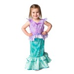 Toddler Little Mermaid 2-Piece Dress Up Costume